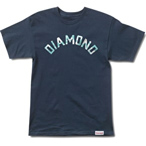 Diamond Simplicity Arch T-Shirt - Navy