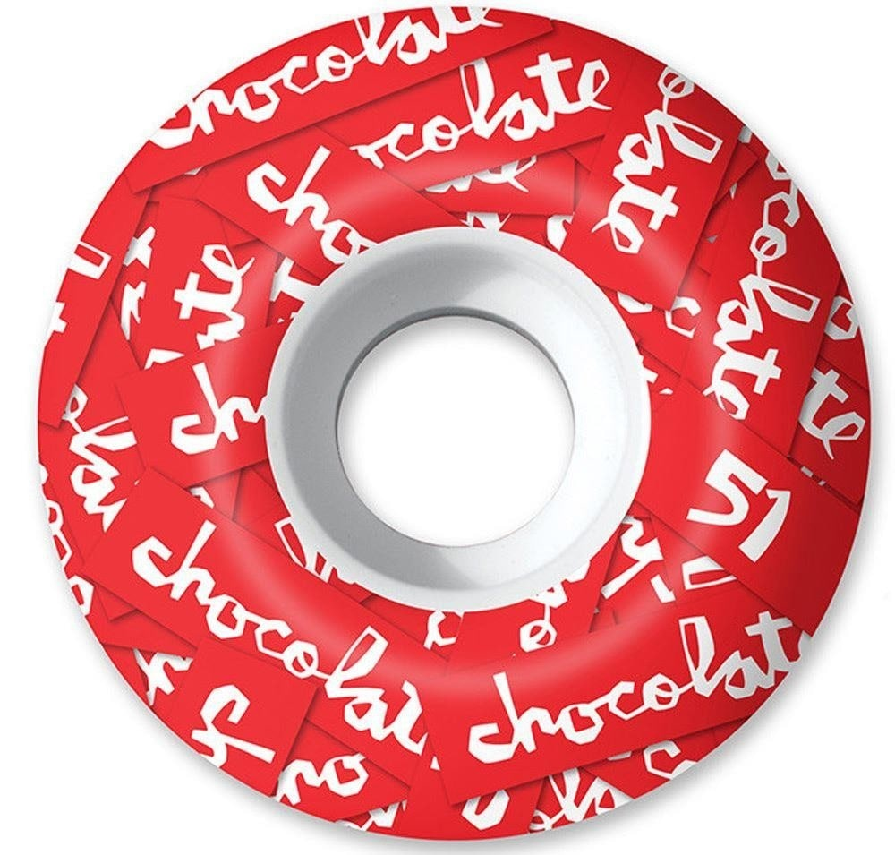 Image of Chocolate All Over Chunk 99a Skateboard Wheels - 51mm