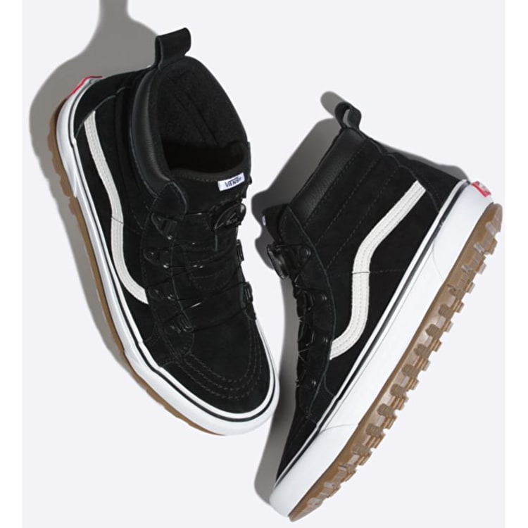 Vans SK8-Hi MTE BOA Skate Shoes - Black/True White