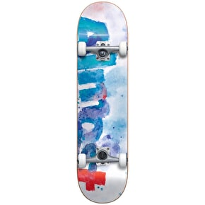 Almost Colour Bleed Complete Skateboard - White 8