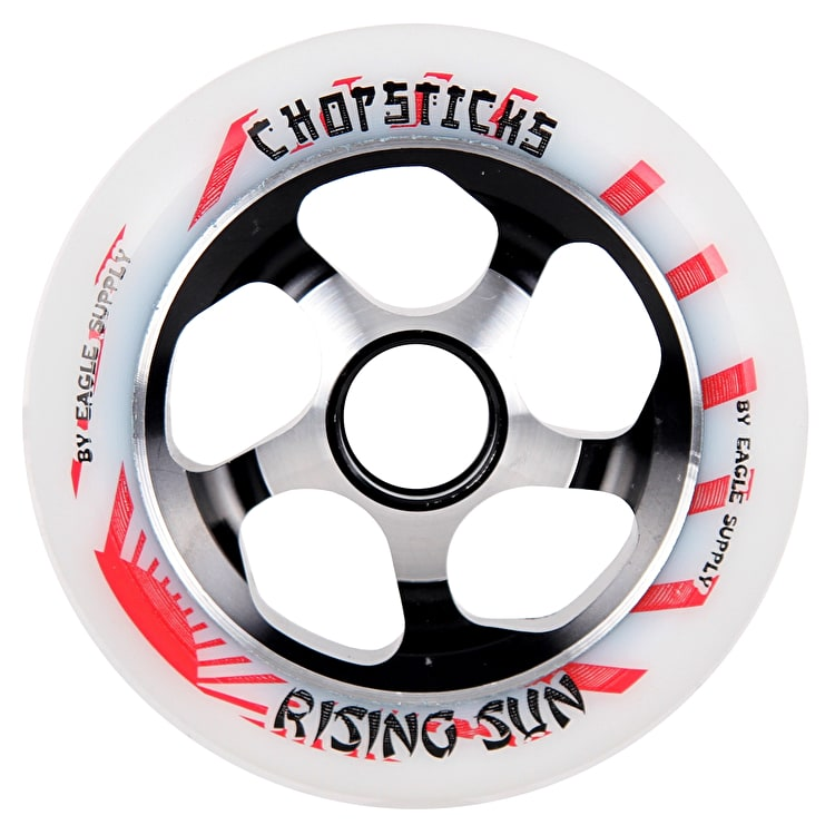 ChopSticks 110mm Rising Sun Wheel - White PU