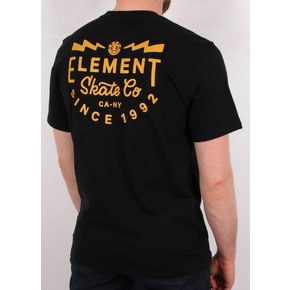 Element Zap T-Shirt - Flint Black
