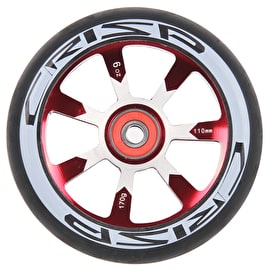 Crisp Hollowtech 110mm Scooter Wheel - Black/Red