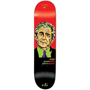 Enjoi Skateboard Deck - Presidents R7 Adams 8.5