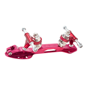 Crazy Skates Venus Plate - Red