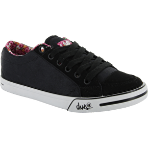 B-Stock DVS Farah Ladies Shoe - Black Suede UK 8 (Box Damage)
