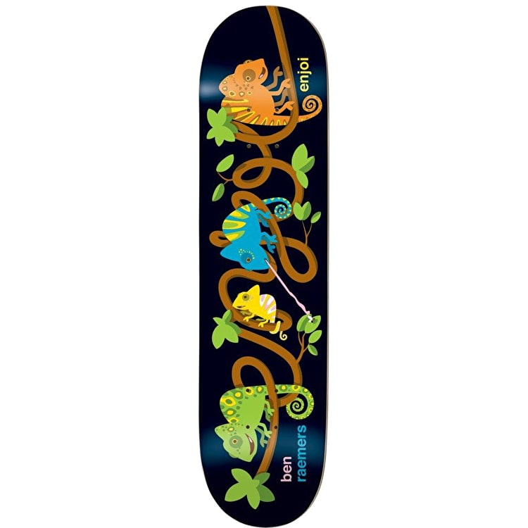 Enjoi Interwined Impact - Raemers Skateboard Deck 8""