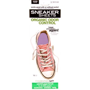 Sneaker Sheets Women's Odour Control Insoles - Pink UK 4-7