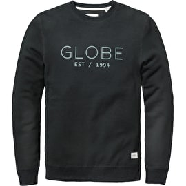 Globe Mod Crew Sweater - Black
