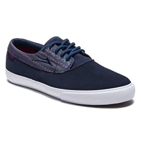 Lakai Camby Shoes - Navy Suede