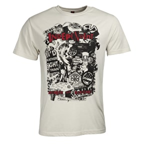 Independent Decades Of Decadence T-Shirt - Bone