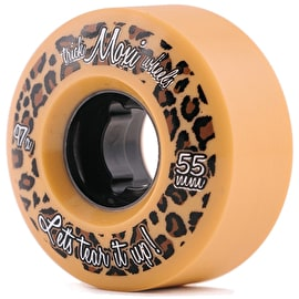 Moxi Trick Roller Skate Wheels - Cream/Tan 55mm 97a