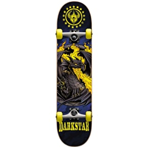 Darkstar Dragon Micro Complete Skateboard - Yellow 6.75