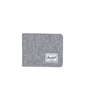 Herschel Roy RFID Wallet - Raven Crosshatch