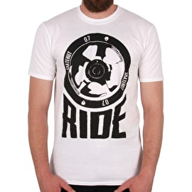 SkateHut Scooter Ride T Shirt - White