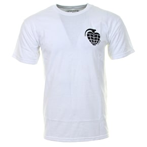 Thunder Basic Grenade T-Shirt - White