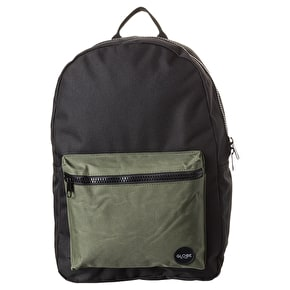 Globe Dux Deluxe III Backpack - Black/Army
