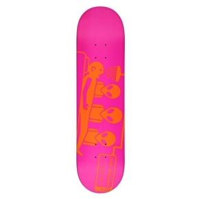 Alien Workshop Logo Skateboard Deck - Dayglo Abduction 7.875