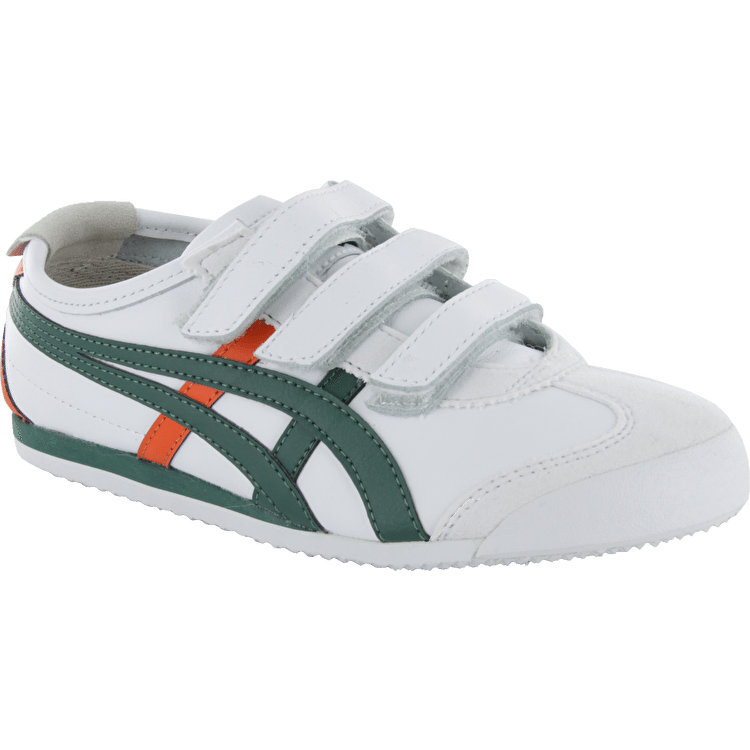 Onitsuka Tiger Mexico 66 Baja Kids Shoes - White/Green