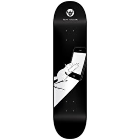 Darkstar Cold Finger HYB Skateboard Deck - Black 8.125