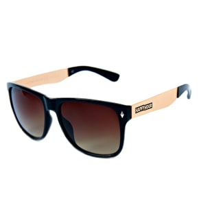 Happy Hour Romar Bermuda Sunglasses - Black/Gold