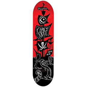 Foundation Pirate Ship Skateboard Deck - Duffel 8.125