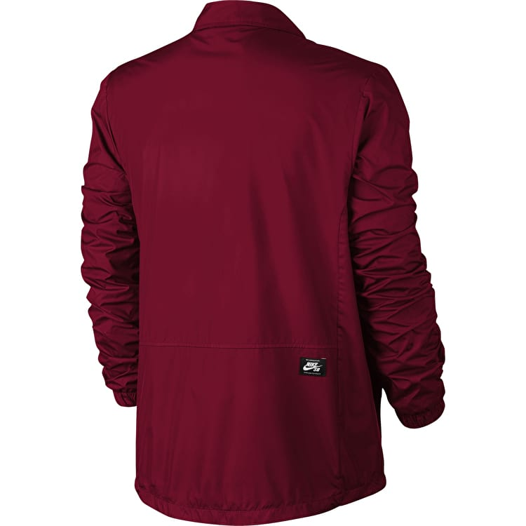 Nike SB Shield Coaches Jacket - Red Crush/White