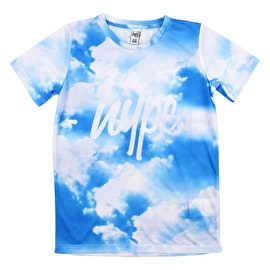 Hype Clouds Kids T-Shirt - Blue