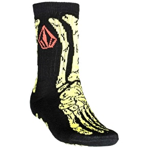 Volcom Savage Kids Socks - Black