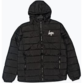 Hype Core Puffa Jacket - Black