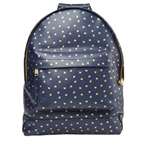 Mi-Pac Backpack - Hearts Navy/Gold