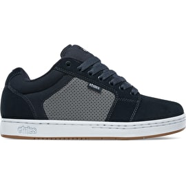 Etnies Barge XL Skate Shoes - Navy/Grey