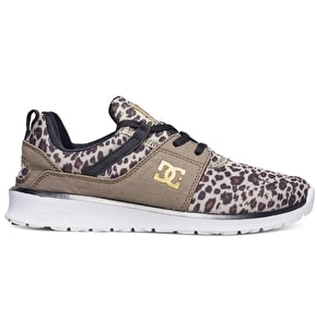 DC Heathrow SE Shoes - Leopard Print