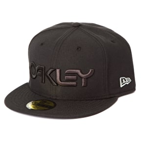 Oakley Factory New Era Fitted Cap - Black/Grey