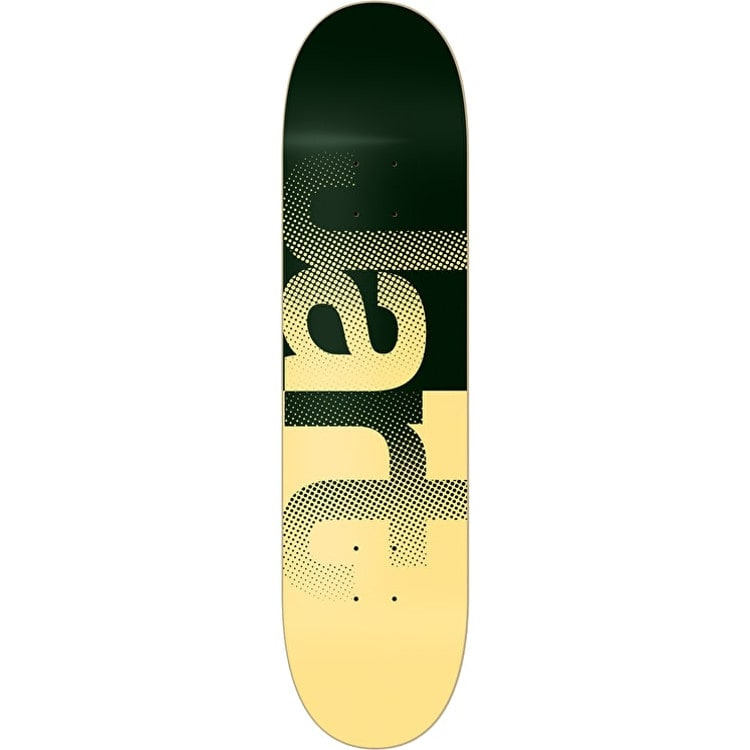 Jart Fog Skateboard Deck - Green/Yellow 8.25""