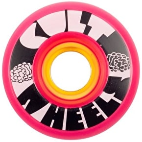 Cult Ist 63mm 80A Longboard Wheels - Pink (Pack of 4)