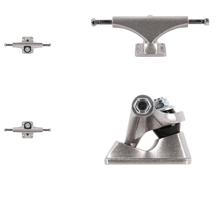 Bullet Skateboard Trucks - Silver 130mm (Pair)