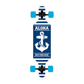 Aloha Anchor Drop-Through Complete Longboard 40