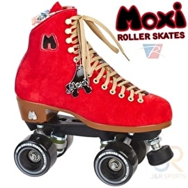 Moxi Lolly Poppy Red Quad Roller Skates