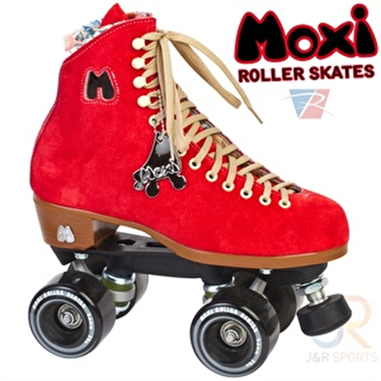 Moxi Poppy Red Quad Roller Skates