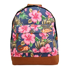Mi-Pac Backpack - Tropical Hibiscus Blue