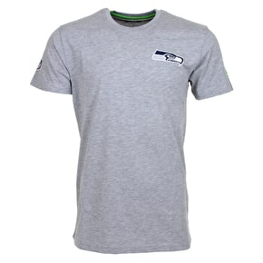 New Era NFL Seattle Seahawks Team T-Shirt - Heather Grey