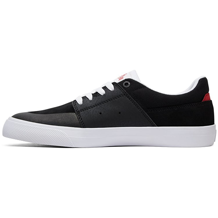 DC Wes Kremer Skate Shoes - Black/White/Red