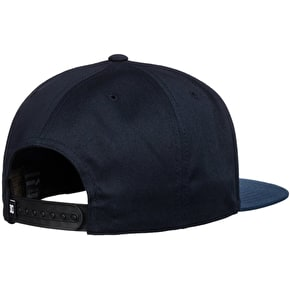 DC Snappy Snapback Cap - Blue Iris/Lemon Chrome