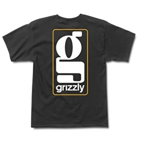 Grizzly Gentlemans T-Shirt - Black
