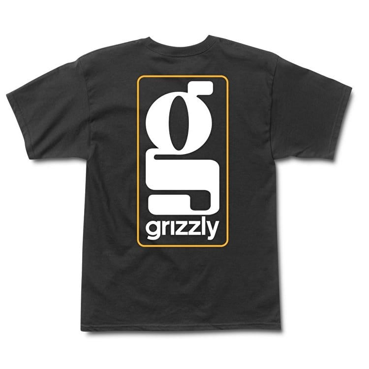Grizzly Gentlemans T shirt - Black