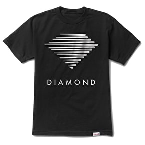 Diamond Westwind Logo T-Shirt - Black