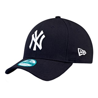 New Era MLB Essential New York Yankees Cap - Navy/White