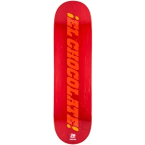 Chocolate Heritage Skateboard Deck - Perez 8.25