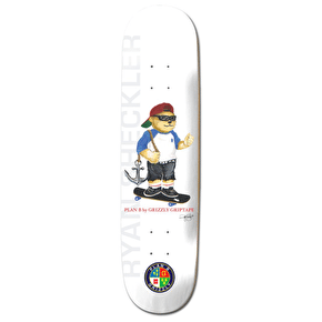 Grizzly X Plan B Skateboard Deck - Shecks